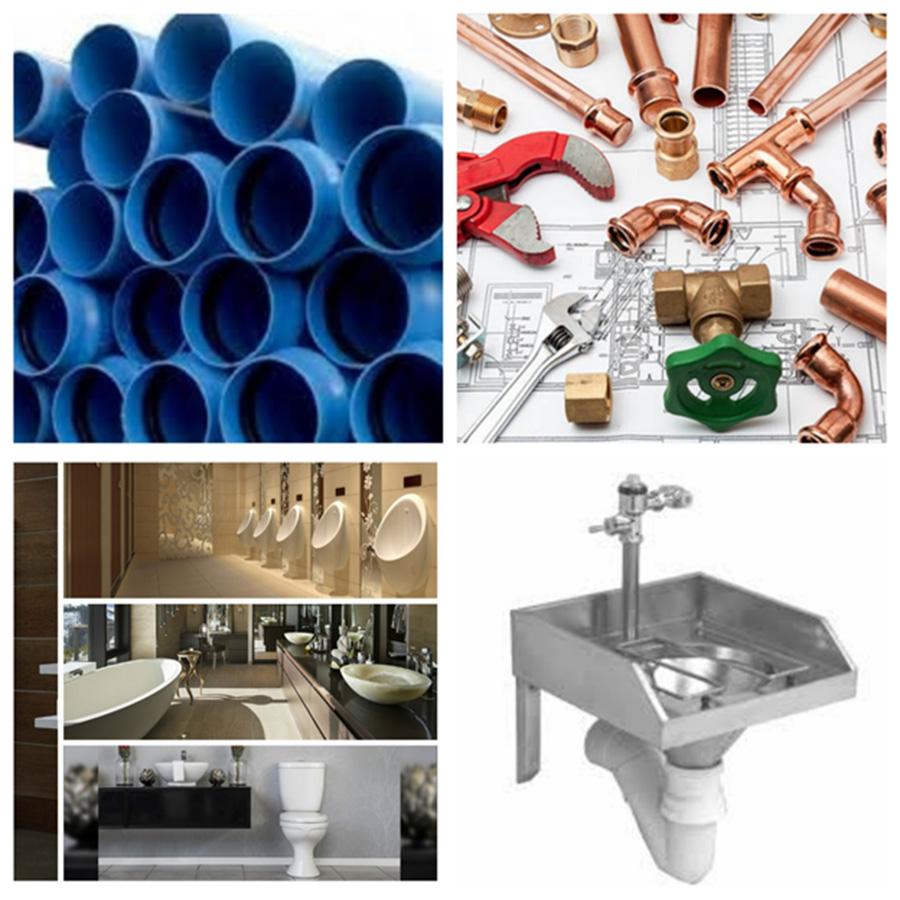 Plumbing works and supply